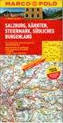 Rakousko 2 - Salzburg, Kärnten, Steiermark, j.Burgenland - mapa Marco Polo - 1:200 000