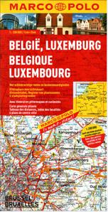 Belgie, Lucembursko - mapa Marco Polo - 1:200 000