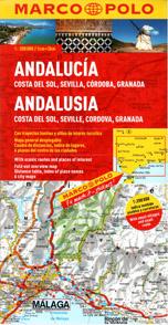 Španělsko - Andalusie - mapa Marco Polo - 1:200 000