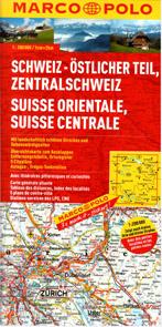 Švýcarsko 2- východ - mapa Marco Polo - 1:200 000
