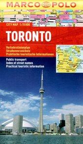 Toronto - městský kapesní plán 1: 15 tis.
