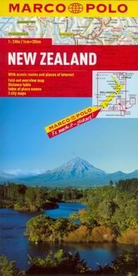 New Zealand - mapa MP 1:2m