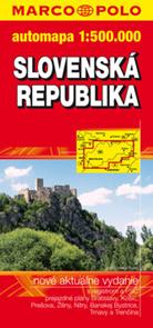 Slovensko - mapa MP - 1:500
