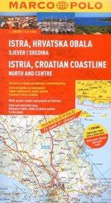 Chorvatsko - pobřeží - sever a střed - automapa Marco Polo - 1:200 000