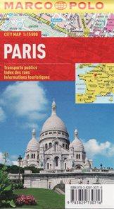 Paříž - plán města 1:15 000