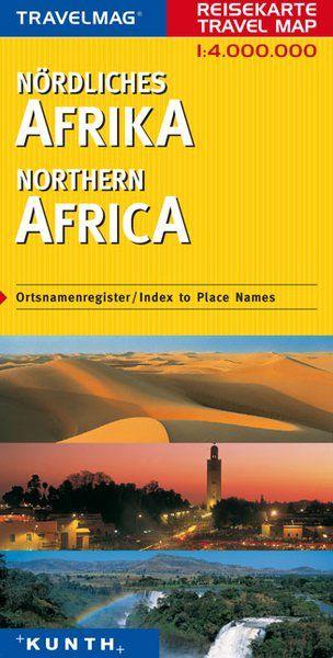 Afrika - severní - mapa Kunth - 1:4mil.
