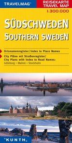 Švédsko - jih - mapa Kunth - 1:300 000