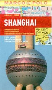 Shanghai - městská kapesní plán 1:15 tis.