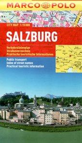 Salzburg - městský kapesní plán 1: 15 tis.