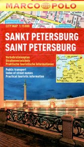 Sankt Petersburg - městský kapesní plán 1: 15 tis.