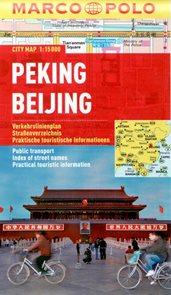 Peking - městský kapesní plán 1: 15 tis.