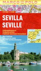 Sevilla - městský kapesní plán 1:15 tis.