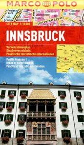 Innsbruck - městský kapesní plán 1: 10 tis.