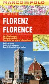 Firenze - městský kapesní plán 1: 15 tis.