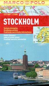 Stockholm - městský kapesní plán
