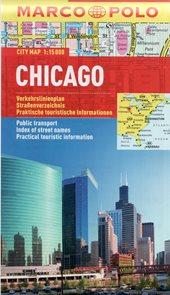 Chicago - kapesní městský plán 1: 15 tis.