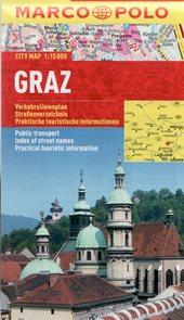 Graz / Grac - kapesní městský plán 1: 15 tis.