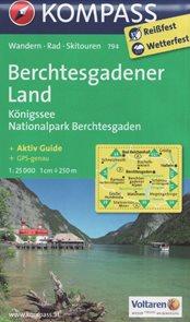 Berchtesgadener Land, Knigssee Kompass 1: 25 tis.