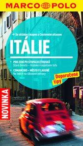 Itálie - turistický průvodce s mapou