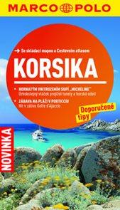 Korsika - turistický průvodce s mapou