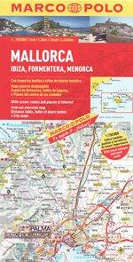 Mallorca, Ibiza, Formentera mapa 1: 150 000