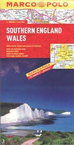 Anglie jih, Wales mapa 1: 300 000