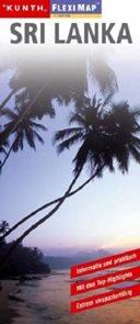 Sri Lanka - mapa Kunth-flexi - 1:650 000