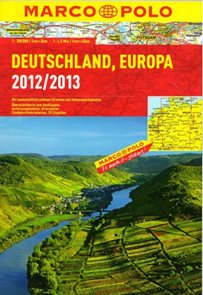 Německo, Evropa 1:300 000, 1:4,5M autoatlas