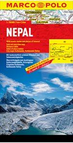 Nepal - mapa MP 1:750t