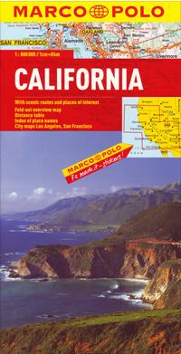 California - mapa MP 1:800 000