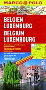 Belgie/Lucembursko - mapa MP 1:300 000