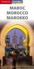 Maroko - mapa Kunth-flexi - 1:900 000