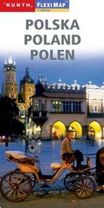 Polsko - mapa Kunth-flexi - 1:1 000 000