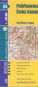 Pelhřimovsko, Česká Kanada - mapa KP č.24 - 1:100t