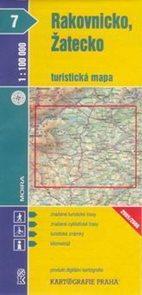 Rakovnicko, Žatecko - mapa KP č.7 - 1:100t