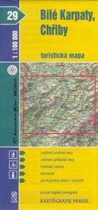 Bílé Karpaty, Chřiby - mapa KP č.29 - 1:100t