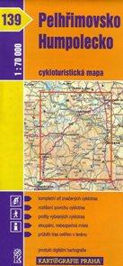 Pelhřimovsko, Humpolecko - cyklo KP139 - 1:70t