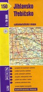 Jihlavsko, Třebíčsko - cyklo KP č.150 - 1:70t