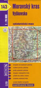 Moravský kras, Vyškovsko - cyklo KP č.143 - 1:70t