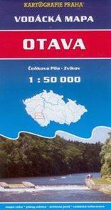 Otava - vodácká mapa - 1:50t /Čeňkova Pila -- Zvíkov/