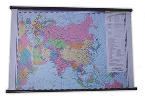 Asie -školní- politické rozdělení - nástěnná mapa - 1:10 000 000