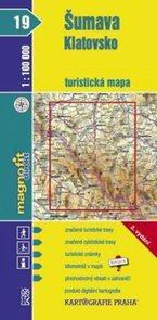 Šumava - Klatovsko - mapa KP č.19 - 1:100t