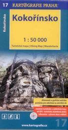 Kokořínsko - mapa Kartografie č.17 - 1:50 000