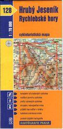 Hrubý Jeseník, Rychlebské hory - cyklo KP č.128 - 1:70t