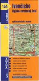 Ivančicko, Dyjsko-svratecký úval - cyklo KP č.154 - 1:70t
