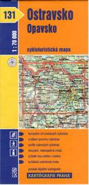 Ostravsko, Opavsko - cyklo KP č.131 - 1:70t