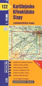 Karlštejnsko, Křivoklátsko, Slapy - cyklo KP122