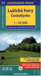 Lužické hory, Českolipsko - mapa Kartografie č.11 - 1:50 000