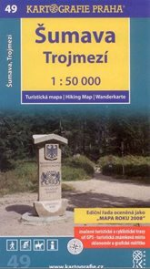 Šumava - Trojmezí - mapa Kartografie č.49 - 1:50 000