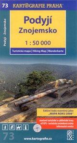 Podyjí - Znojemsko - mapa Kartografie č.73 - 1:50 000